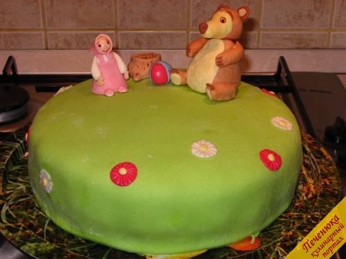 торт детский рецепт медведь