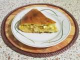 Рецепт пирога с капустой с жидким тестом