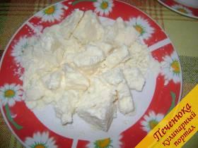 3) Масло немного подтопить с помощью микроволновки, буквально на 2 минуты при мощности 400 Вт.