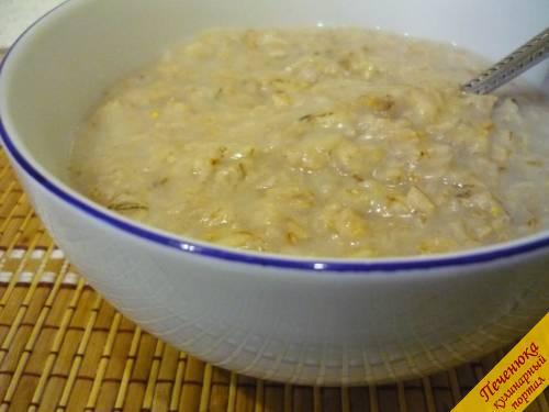Рецепт приготовления геркулесовой каши на воде