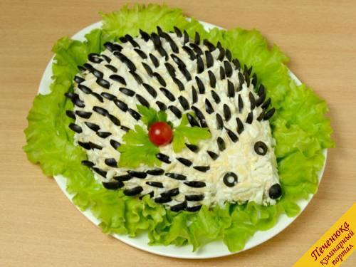 Смотреть вкусные салаты на день рождения