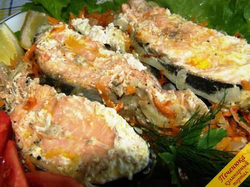 Горбуша запеченная в духовке - красная рыба (рецепт) 27
