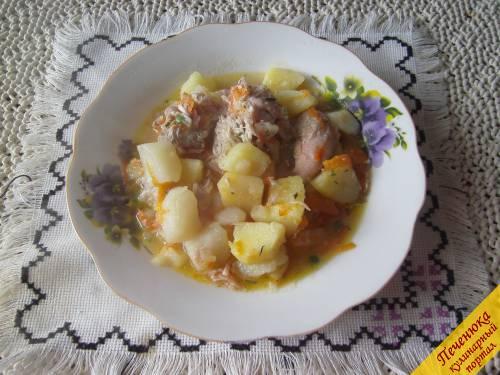 7) Блюдо очень простое и очень вкусное. Я его с удовольствием включила в свой рацион.