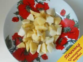 2) За это время как раз начистим картошку.