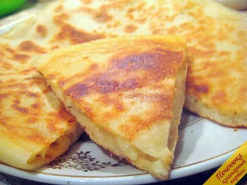осетинские пироги с сыром и картошкой рецепт с фото