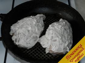 Как сделать грудку в духовке не сухой