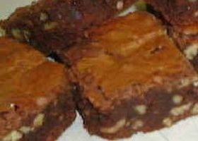 Шоколадное брауни с грецкими орехами