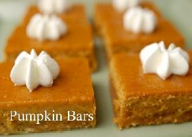 Тыквенные кусочки (Pumpkin Bars)