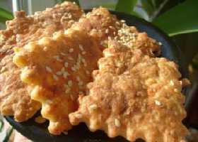 Простое сырное печенье с плавленным сыром (рецепт)