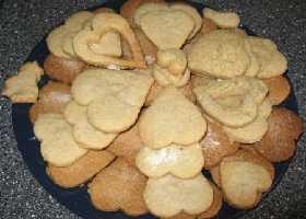 """Имбирное печенье """"Сердце"""""""