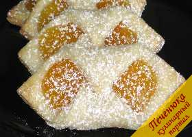 """Печенье из творожного сыра с вареньем """"Колачки"""""""