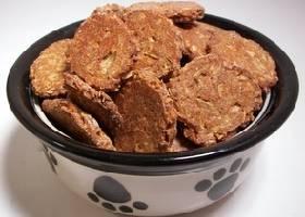 Геркулесовое печенье для собак