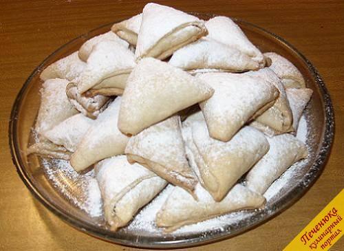 """Песочное печенье на сметане """"Конвертики"""""""