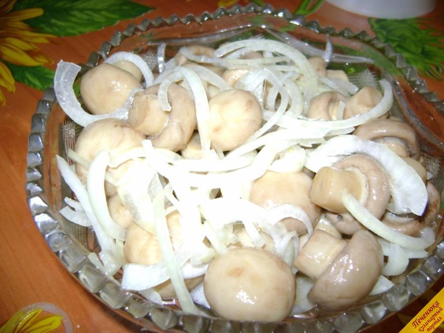 Маринованные грибы быстрого приготовления (пошаговый рецепт с фото)