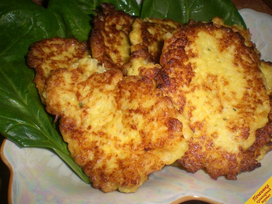 Оладьи из цветной капусты (пошаговый рецепт с фото)